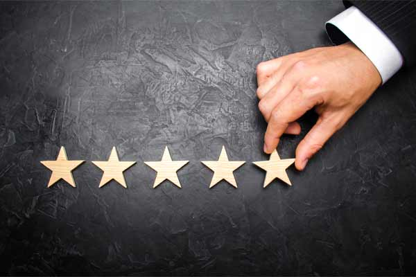 Having good reviews can make or break a potential client's decision to hire you.
