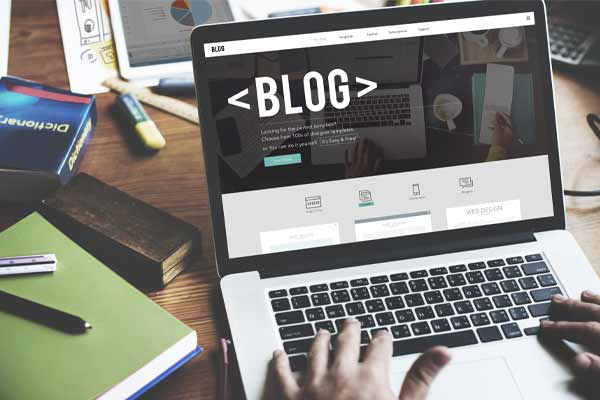 have a blog on your website