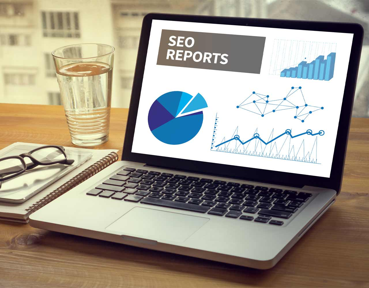 what to look at in an SEO report as a lawyer